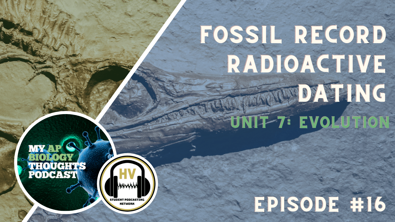 Fossil Record and Radiometric Dating