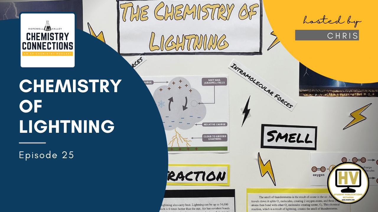 chemistry of lightning